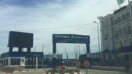 Algérie le port d'Annaba francophonie Y. Pantalacci