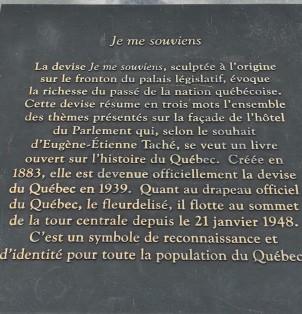 Je me souviens-francophonie