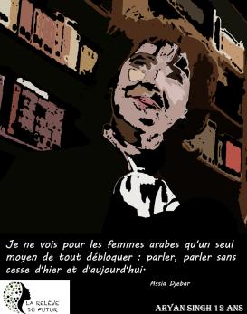 Assia Djebar-Francophonie-Numérique