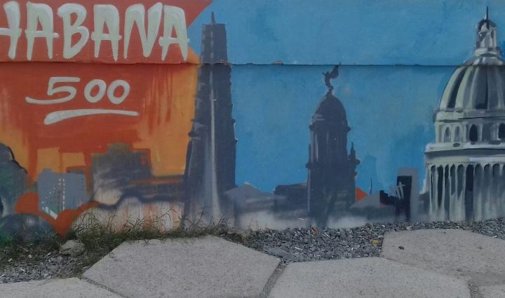 Fresque- les 500 ans de La Havane